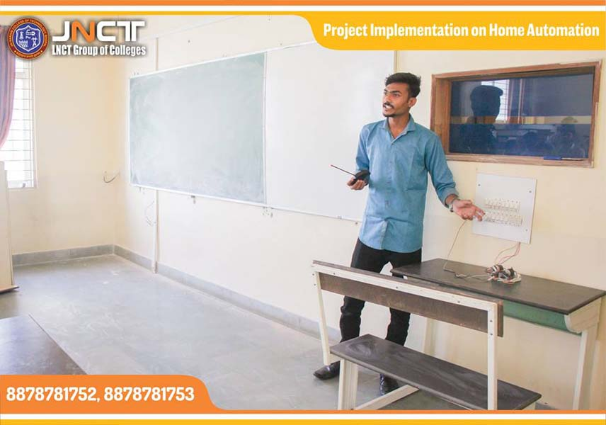 Home Automation Project – Jai Narain College of Technology
